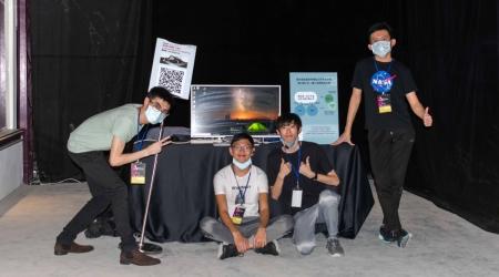 龍華科大遊戲系學生團隊,參加2020台北白晝之夜,展現技職生跨域學習、勇敢創新精神。