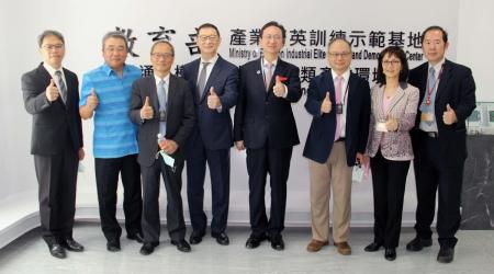 僑委會、考試委員、泰國代表聯袂參訪龍華科大,肯定培育僑外生成效。