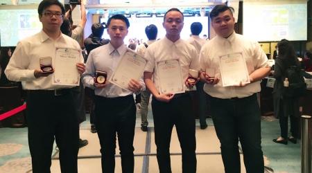 龍華科大化材系師生團隊,參加2018 IIIC國際創新發明競賽,獲得5金4銀佳績。